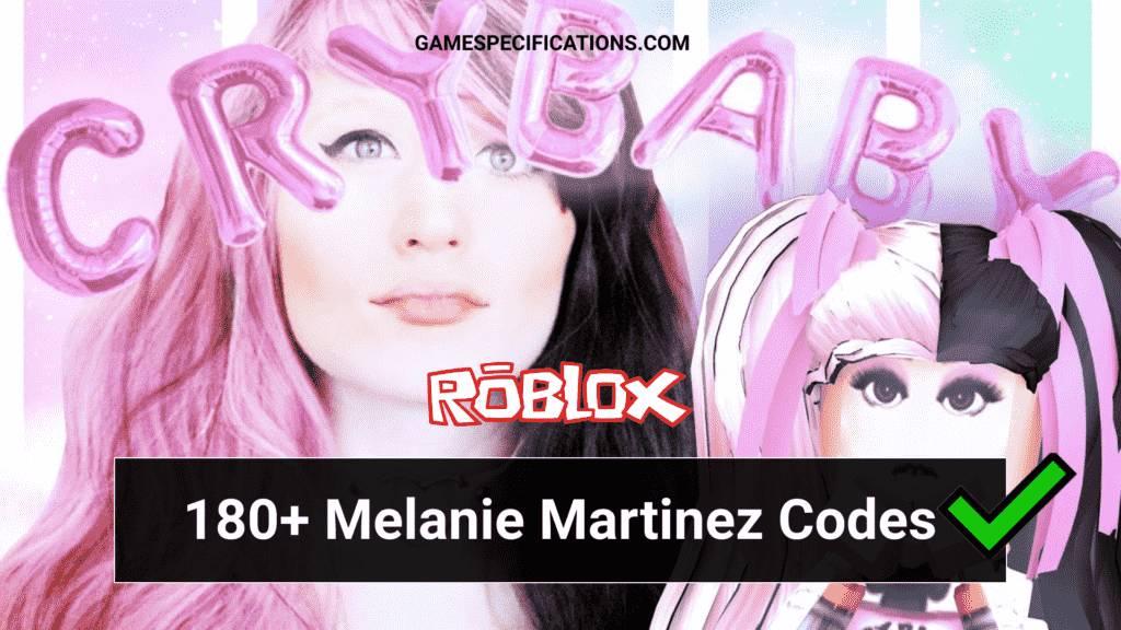Melanie Martinez Roblox ID Codes
