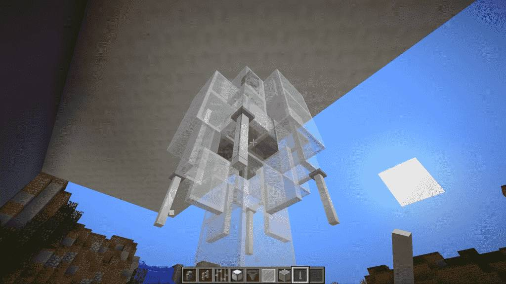 End Rods for Minecraft Chandelier