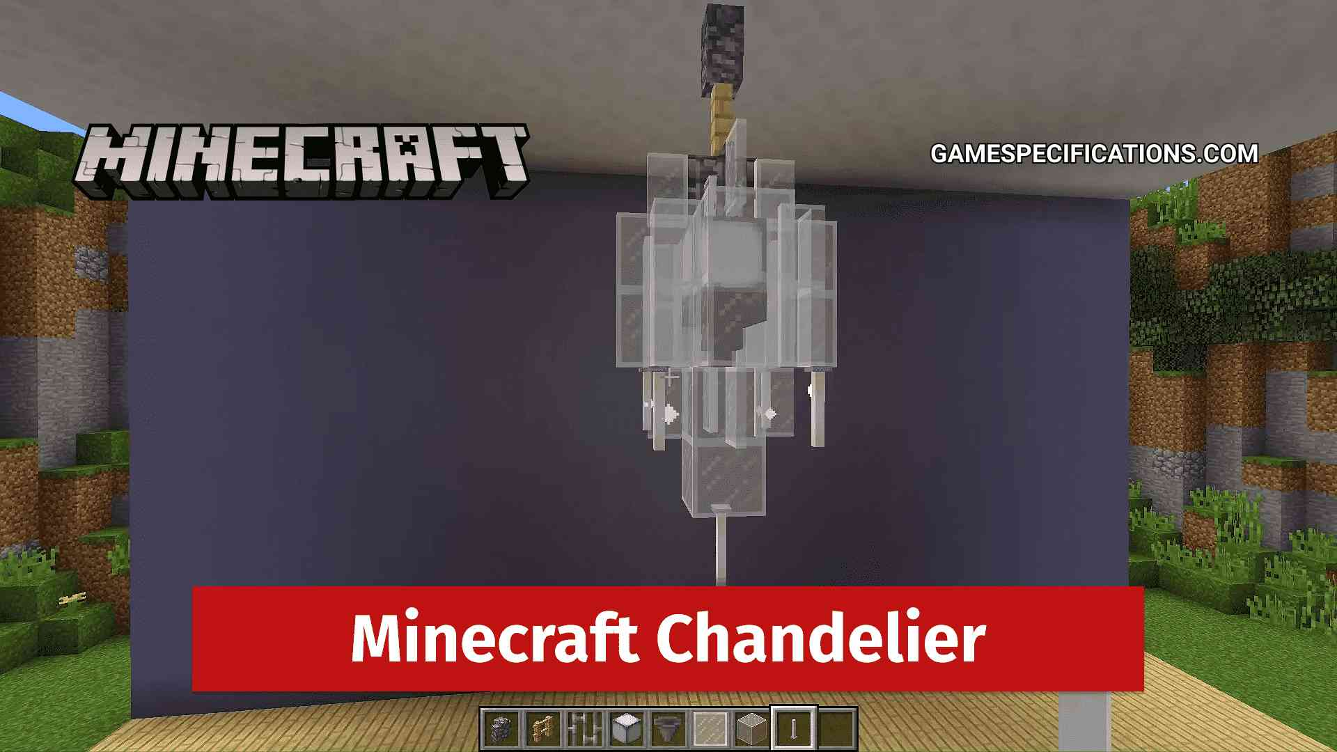 How To Create An Awesome Minecraft, How Do You Make A Chandelier In Minecraft