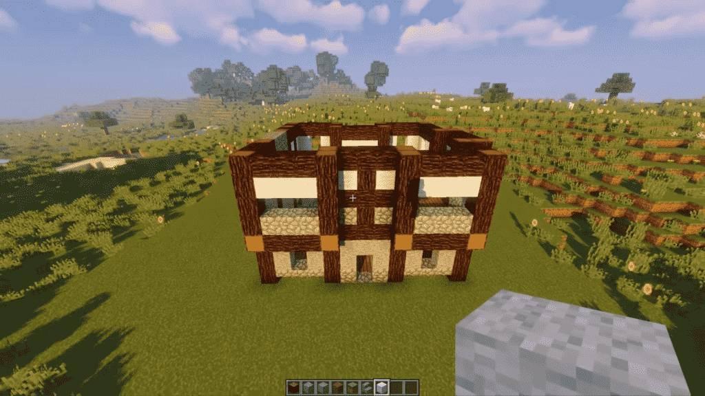 Minecraft-Tavern-1st-Floor-Design