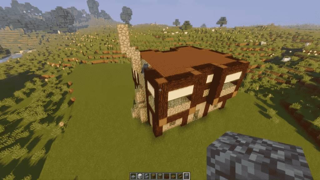 Minecraft-Tavern-Front-Side