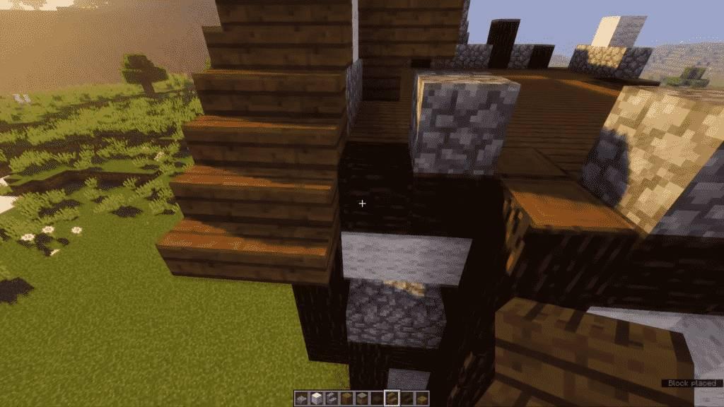 Minecraft-Tavern-Roof
