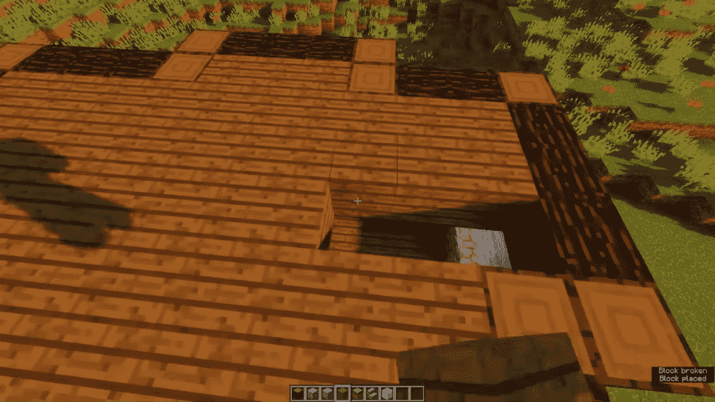 Minecraft-Tavern-Roof-Cover