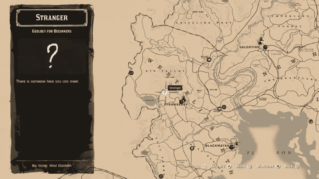 Geology for Beginners Mission RDR2