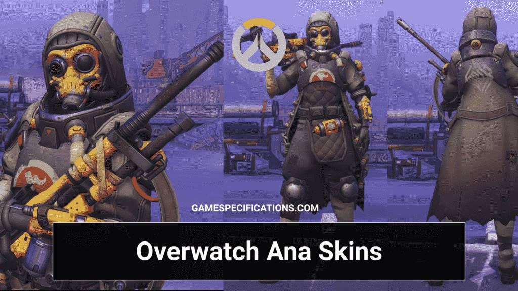 Overwatch Ana Skins