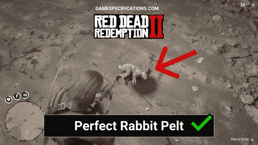 Red Dead Redemption 2 Perfect Rabbit Pelt