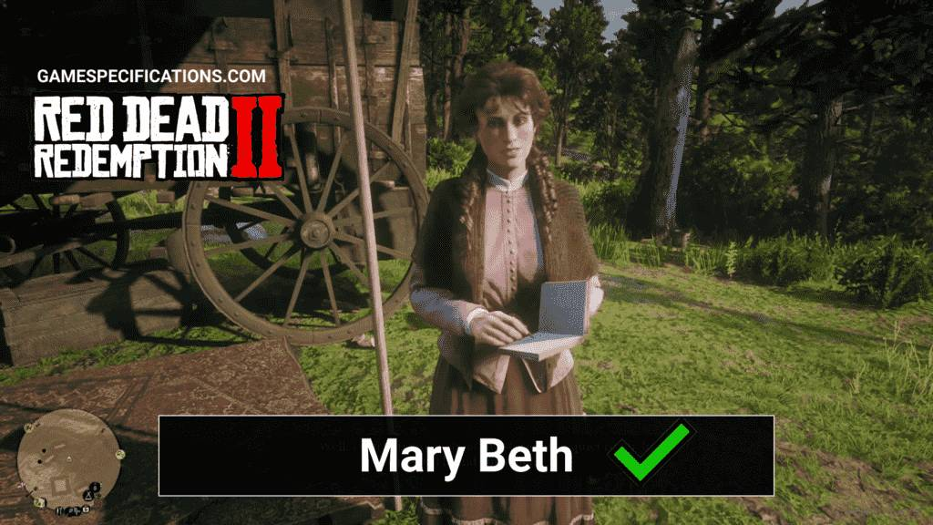 Red Dead Redemption 2 Mary Beth
