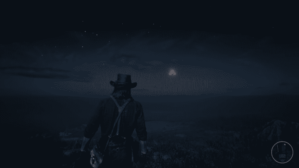 RDR2 Panoramic Map UFOs