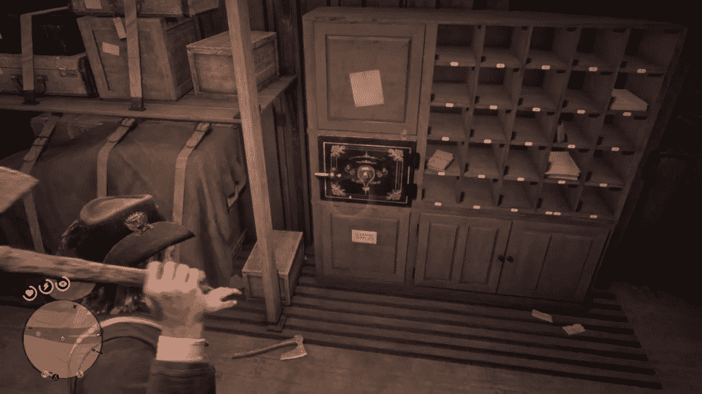 Red Dead Redemption 2 Safes