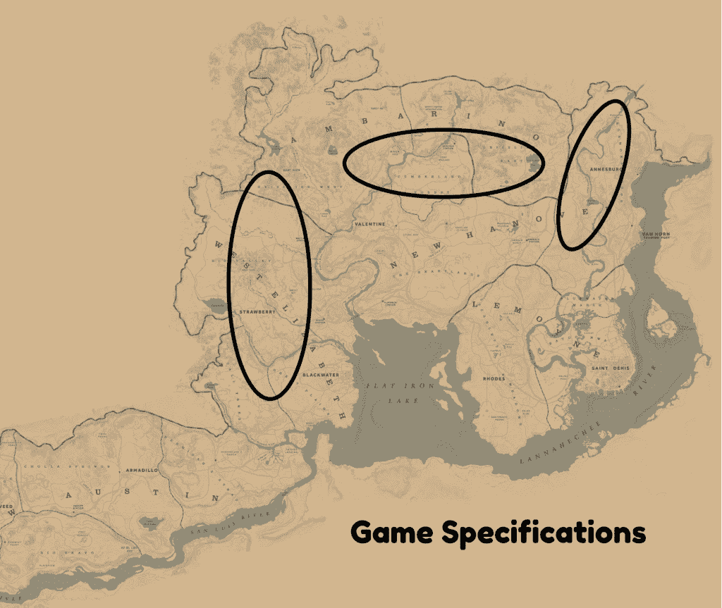 Red Dead Redemption 2 Elk Locations
