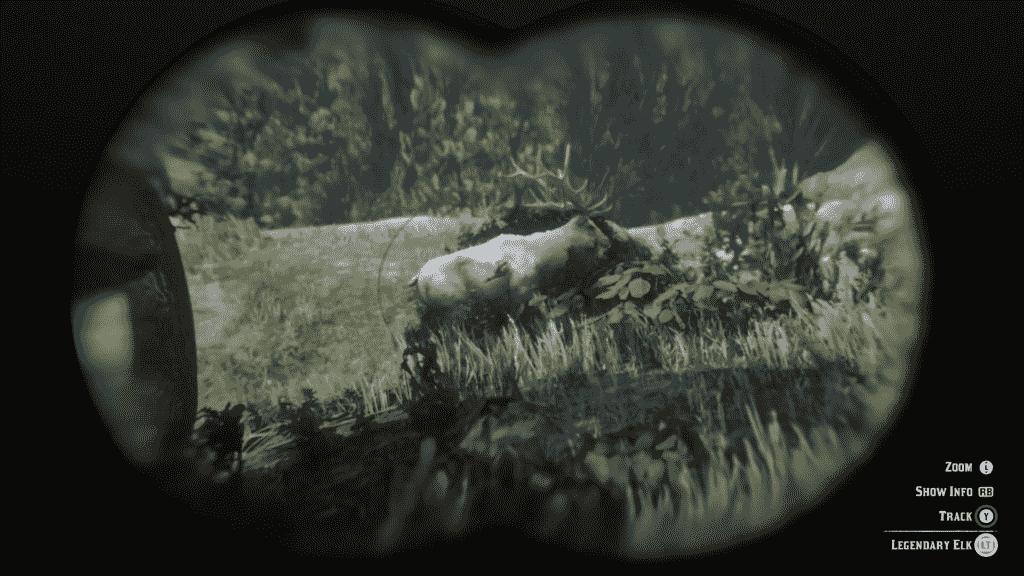 Red Dead Redemption 2 Legendary Elk