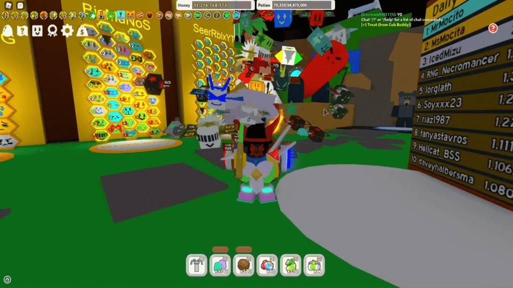 Roblox Bee Swarm Simulator Gameplay