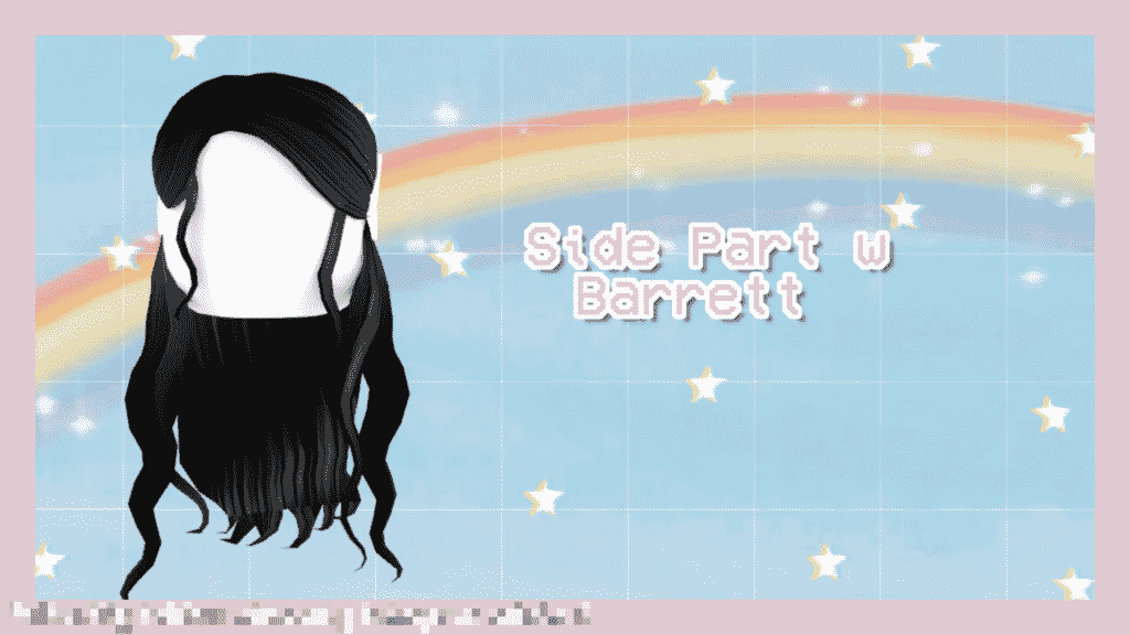 Side Part Roblox Hairs