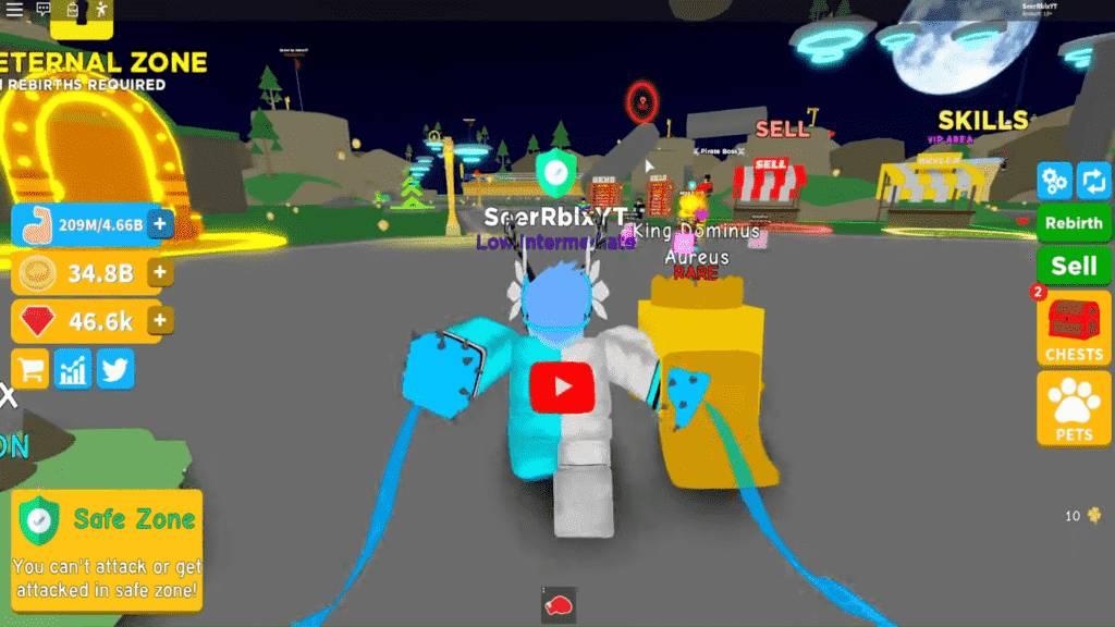Roblox Champion Simulator Gameplay