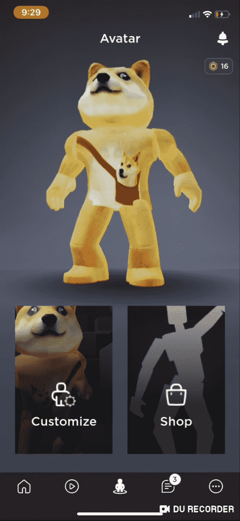 Roblox Doge Avatar