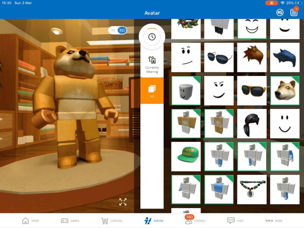 Roblox Avatar to Doge