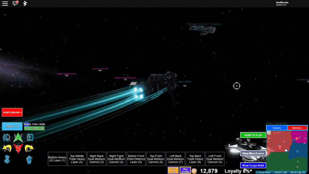 Roblox Galaxy Gameplay 1