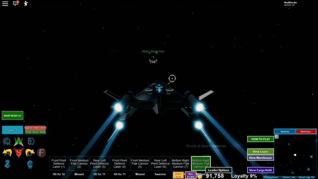 Roblox Galaxy Gameplay 3