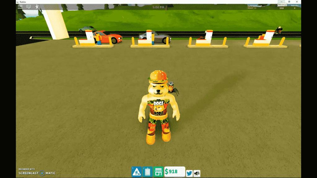 Roblox Gas Station Simulator Gameplay