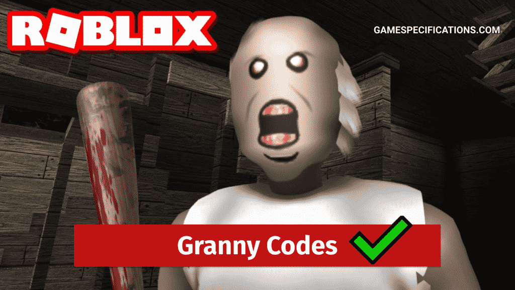 Roblox Granny Codes