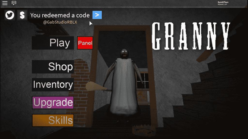 roblox granny redeem codes