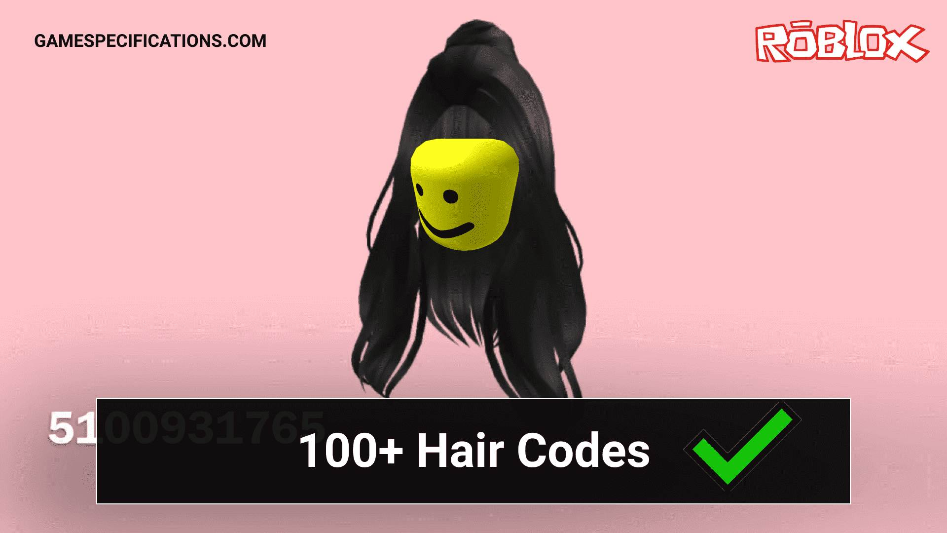 10+ Popular Roblox Hair Codes - Game Specifications