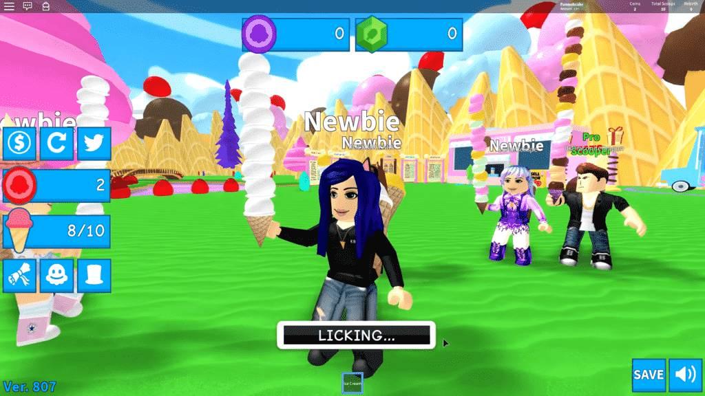 Roblox Ice Cream Simulator Gameplay