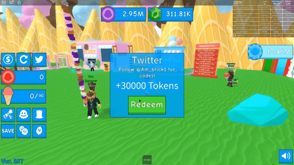 Roblox Ice Cream Simulator Redeem Codes