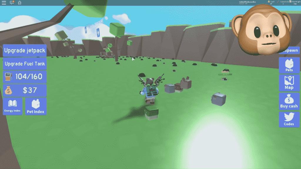Roblox Jetpack Simulator Gameplay