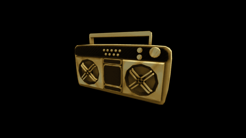 Boombox in Roblox