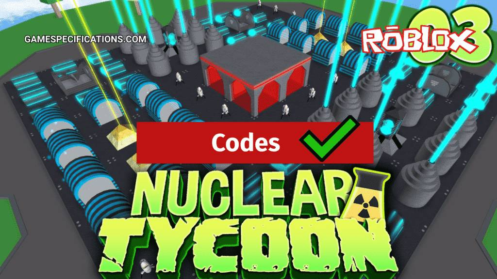 Roblox Nuclear Plant Tycoon Codes