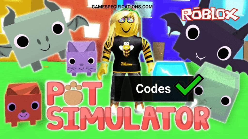 Roblox Pet Simulator Codes