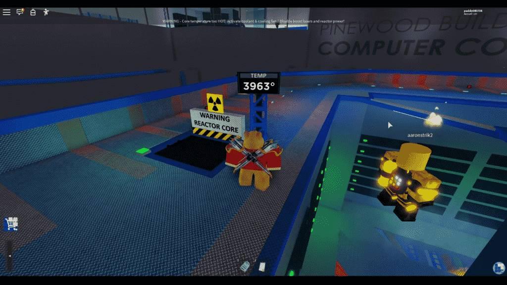 Roblox Pinewood Computer Core Gameplay