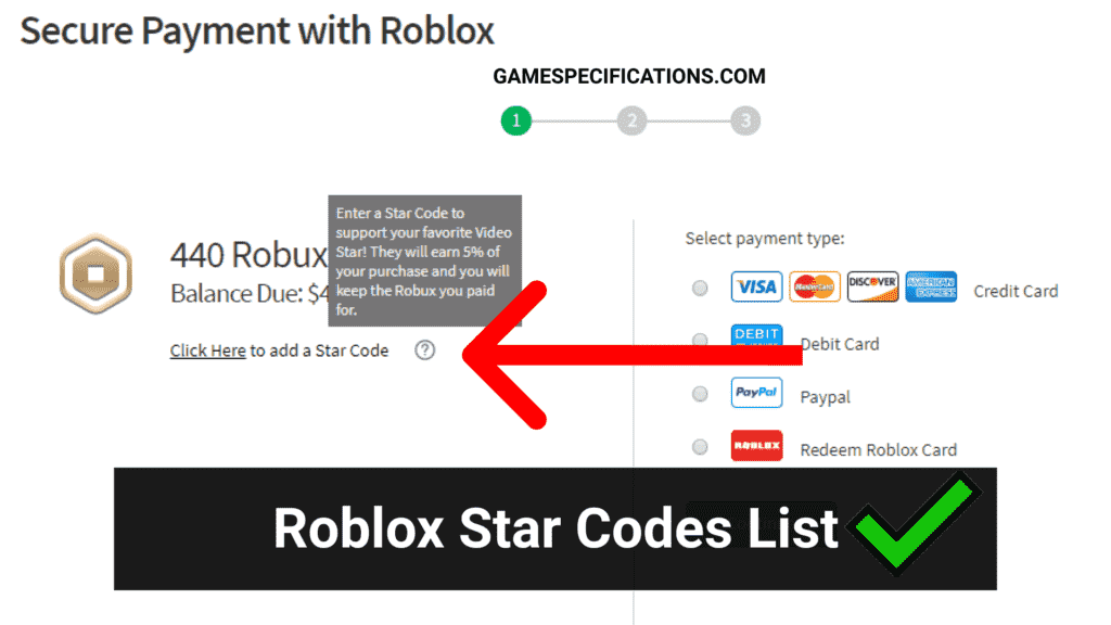 Roblox Star Codes