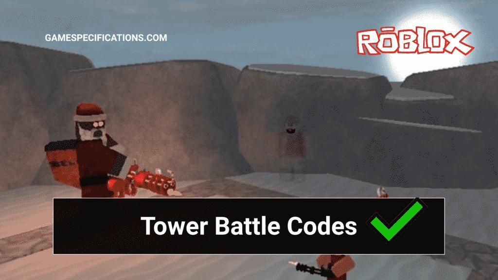 Roblox Tower Battles Codes