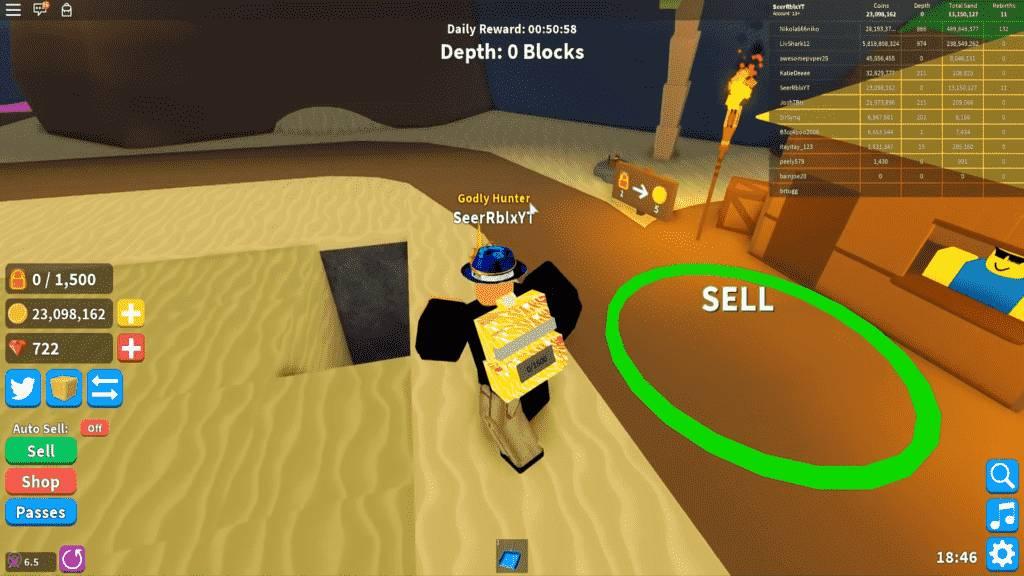 Roblox Treasure Hunt Simulator Gameplay