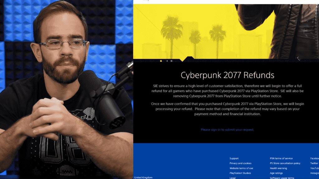 Sony removed Cyberpunk