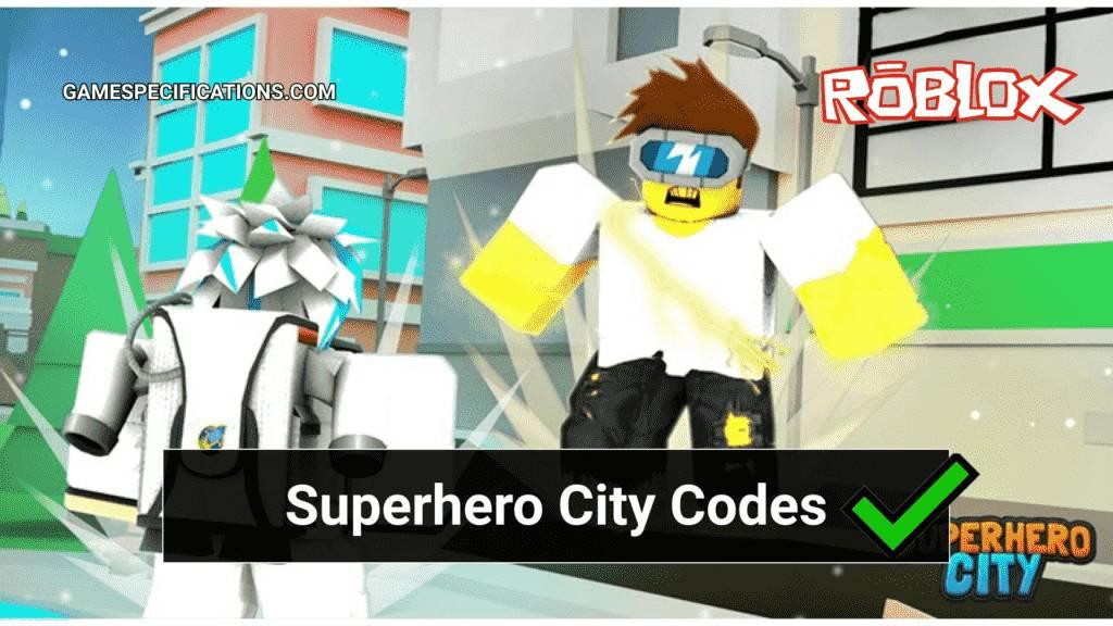 Superhero City Roblox Codes 2