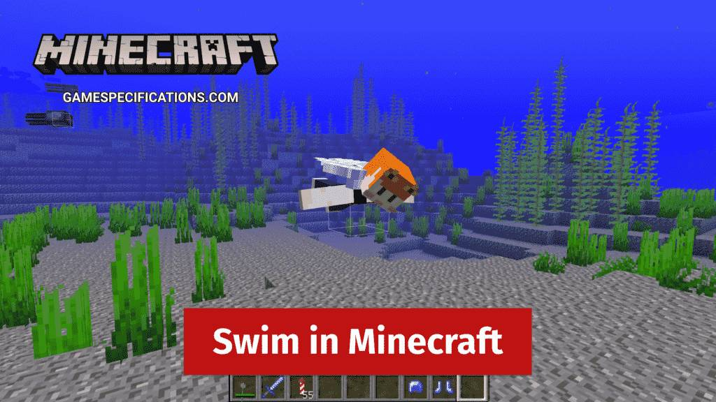 Swim in Minecraft