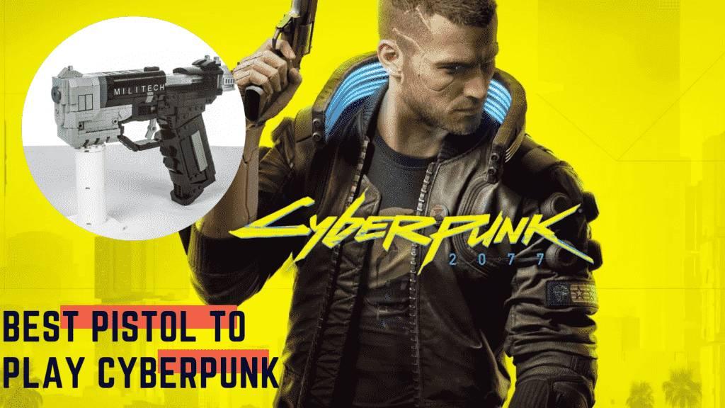 Cyberpunk 2077 pistol
