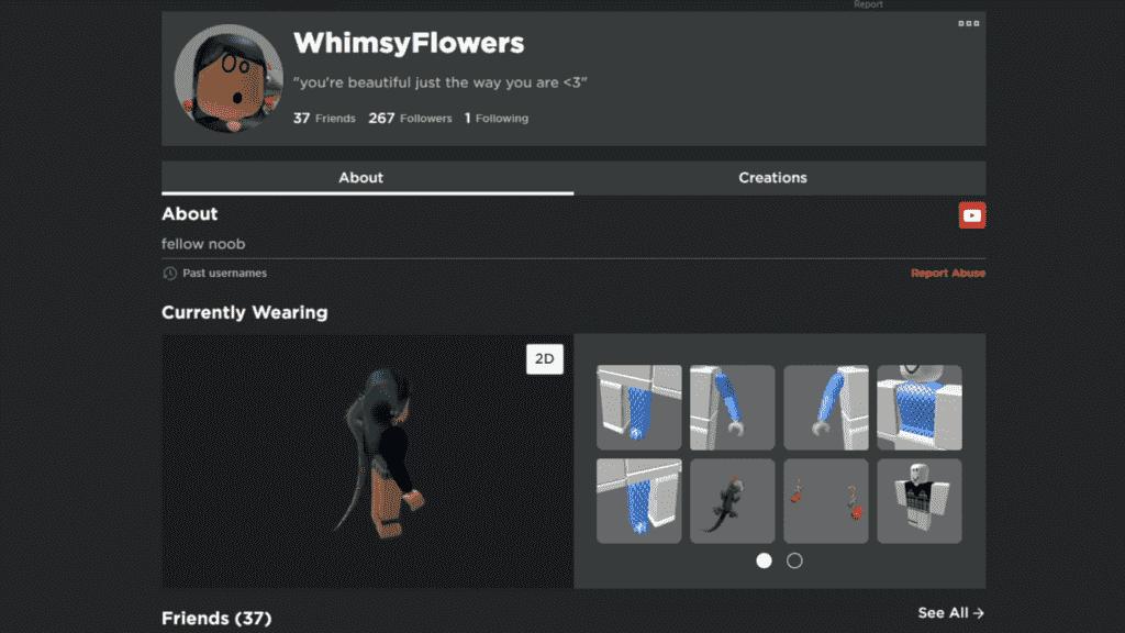 Roblox customize avatar