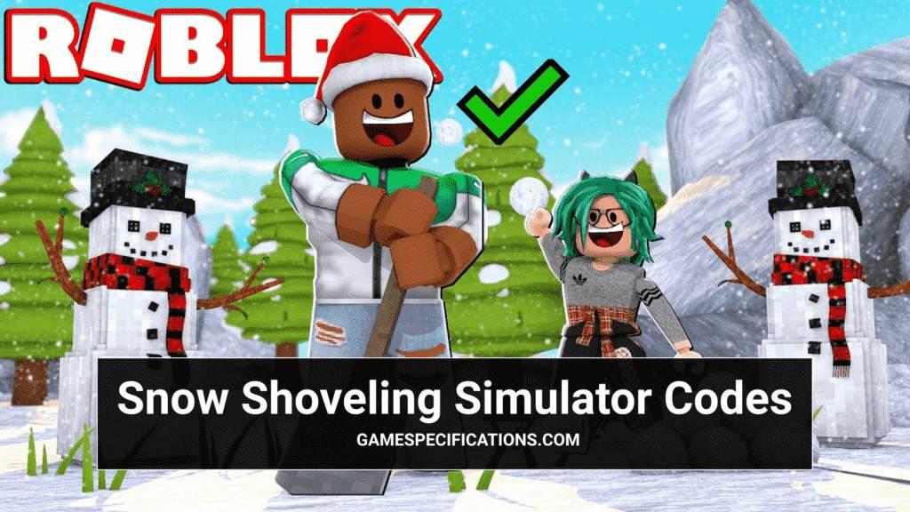 roblox snow shoveling simulator codes