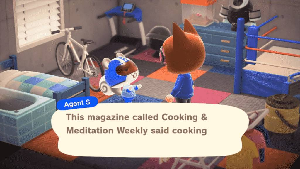 Agent S Animal Crossing Appearance