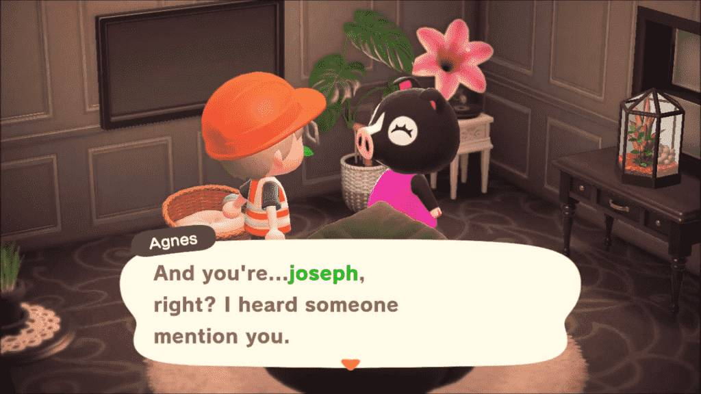 Agnes Animal Crossing - Personality