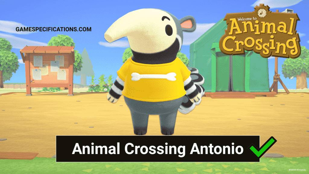 Animal Crossing Antonio