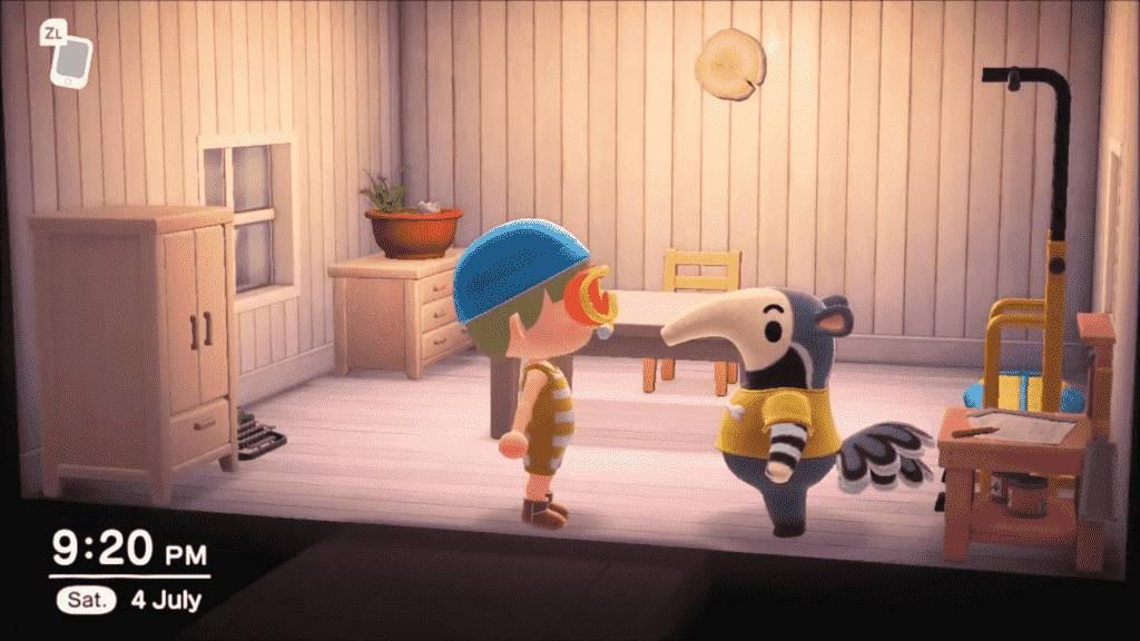 Animal Crossing Antonio Appearance