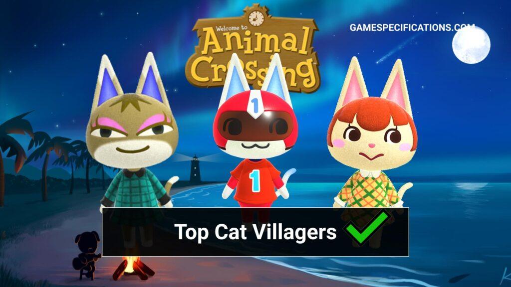 Animal Crossing Cat Villagers