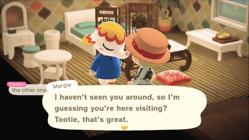 Animal Crossing Margie Personality