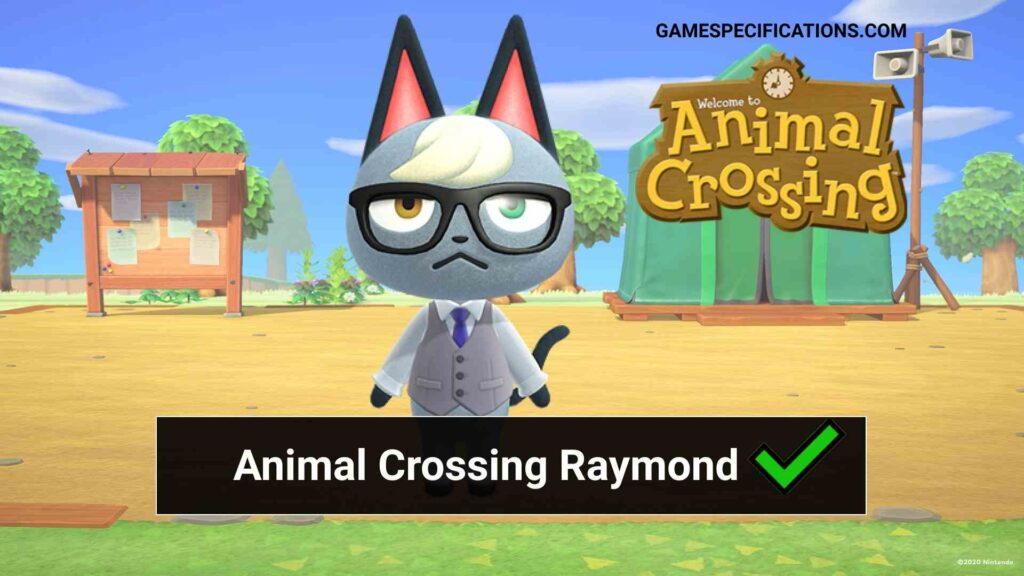 Animal Crossing Raymond