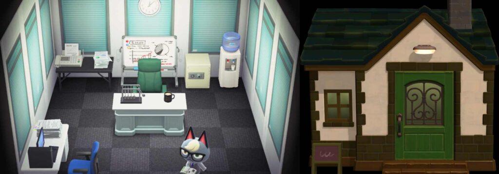 Animal Crossing Raymond - House